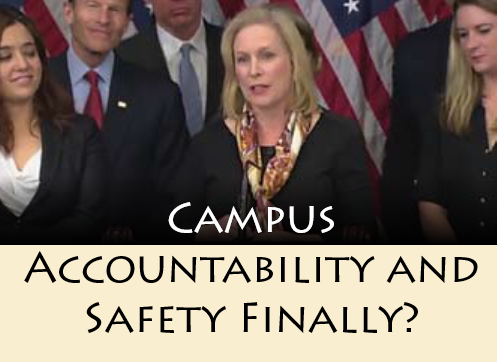 Campus Accountability and Safety Finally?