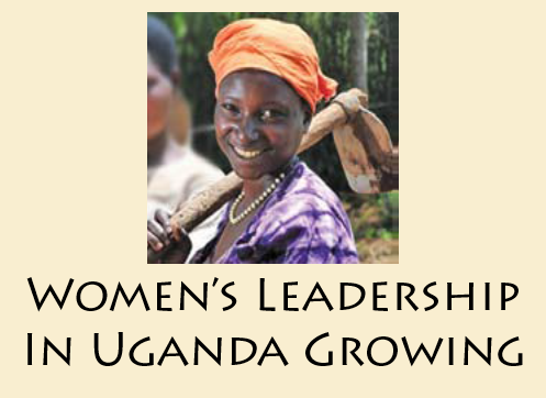 Women's Leadership In Uganda Growing