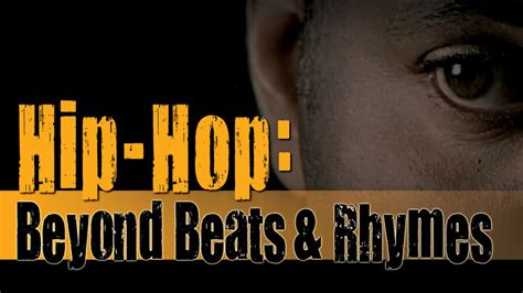 30 Hip Hop Beyond Beats and Rhymes