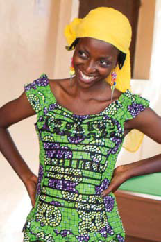 Nahimana, mother of two, spends time at a new youth center in Bujumbura, where services are offered to support vulnerable groups to get better education on HIV, sexual health and contraception. It is the first youth-led center of its kind in Burundi.