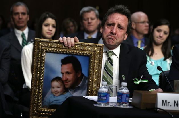 The tears of Sandy Hook fathers are mixing with the fierce determination of Sandy Hook mothers to create a tribe of new social justice change agents: activist parents. Photo: Hartford Courant