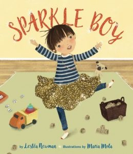 Sparkle Boy book cover