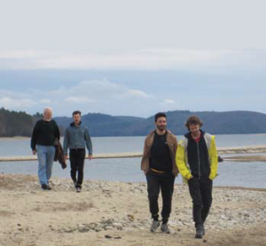 Walking on the beach - Steve Trudel, Keith Quirolo, Ben Fuller-Googins, Ben Blackshear