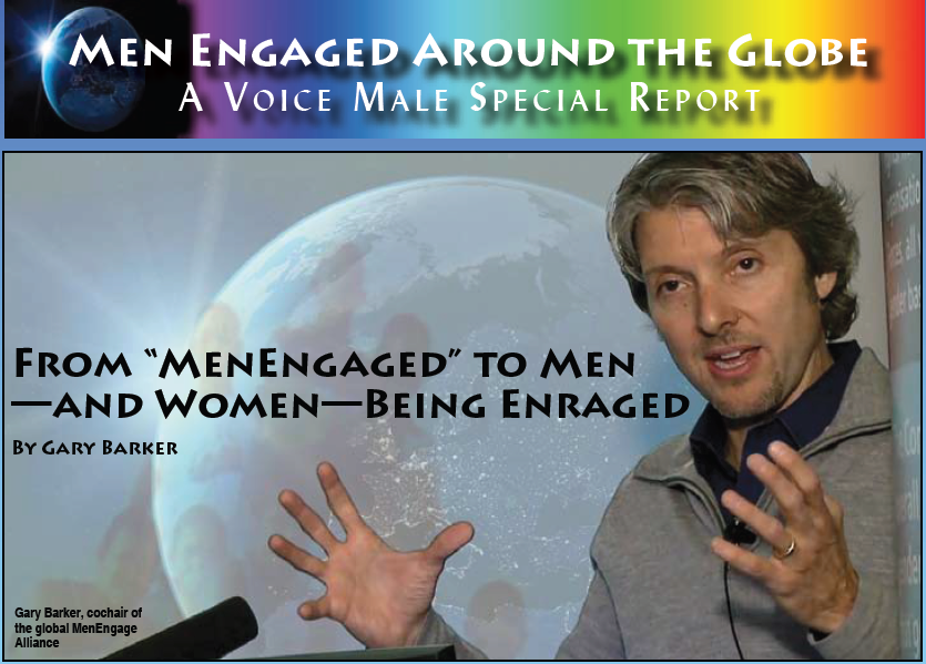 "From ""MenEngaged"" to Men —and Women—Being Enraged By Gary Barker"