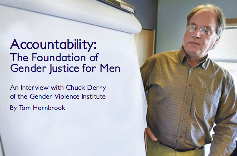 Accountability: The Foundation of Gender Justice for Men