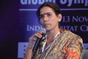 Indian transgender activist Reshma Prasad.