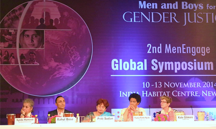 New Dehli Global MenEngage Symposium