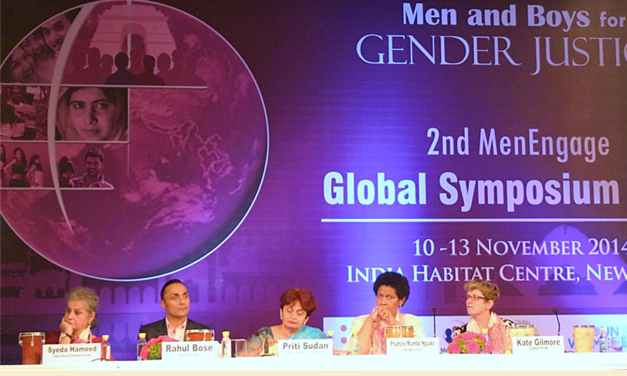 New Dehli Global MenEngage Symposium