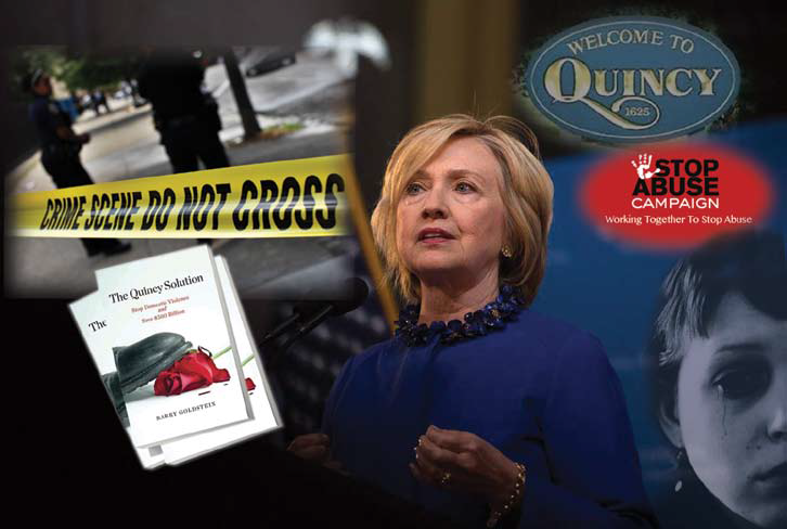 """Hillary Clinton and the """"Quincy Solution"""" to Prevent Domestic Violence"""