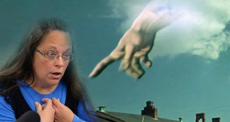 God Responds to Kim Davis