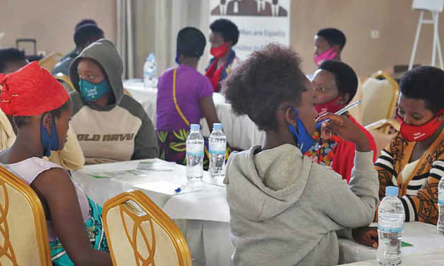 Rwandan Men and Boys Work to Prevent Teen Pregnancy and Gender Violence
